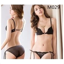 m029 black sexy backstrap ribbon pus (end 2/10/2019 6:15 pm)