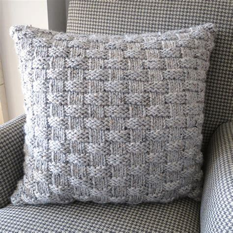 free knitting pattern hair net basket weave pillow allfreeknitting com