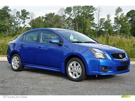2012 blue nissan sentra metallic blue 2012 nissan sentra 2 0 sr exterior photo