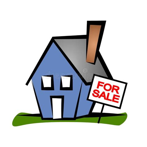 clipart estate real estate clip house 2 stock illustration