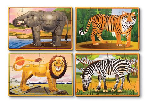 Puzzle Animal animals puzzle in a box jigsaw puzzle