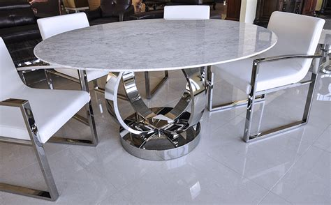 Circle Breakfast Table Modern Circle Dining Table Brucall