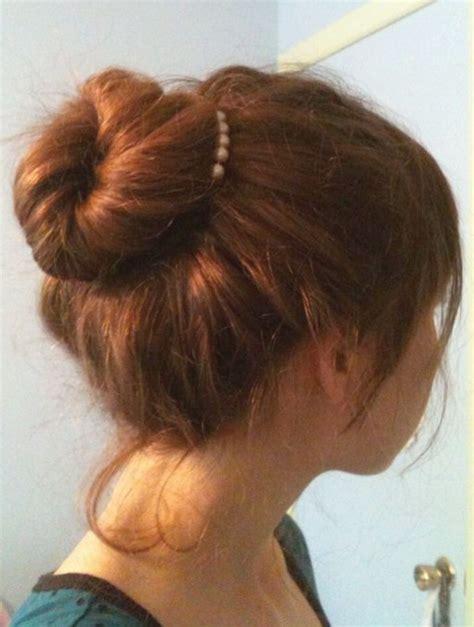 easy bun hairstyles  long hair popular haircuts