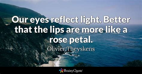 Olivier Theyskens Our Eyes Reflect Light Better That The