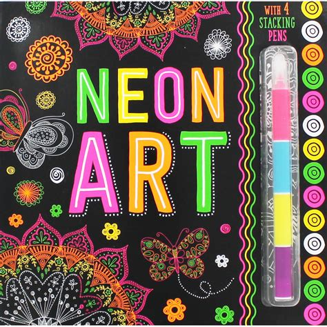neon in daylight books neon colouring book children s colouring books at