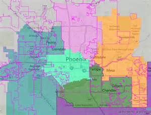 arizona city limits map a fair redistricted america part 1 4 alabama to