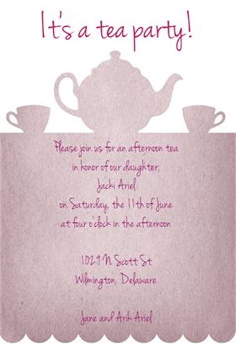 morning tea invitation template free tea invitation templates and invitation