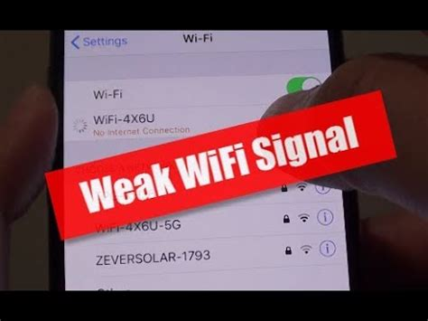 iphone xs fix wifi connectivity issue weak signal