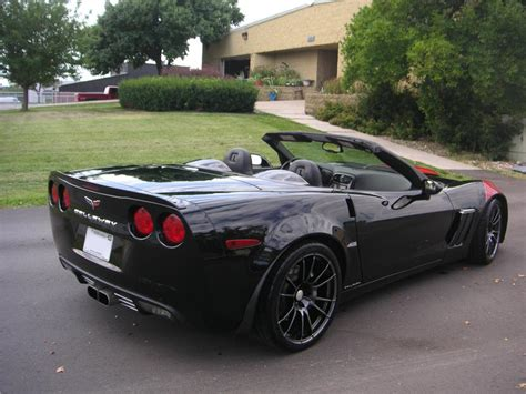 black convertible cars 2010 chevrolet corvette grand sport callaway convertible