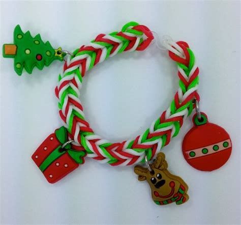 pinkberry christmas loom bands