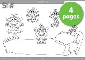 free monkeys coloring pages super simple learning