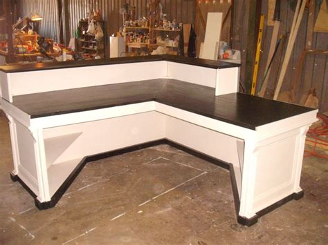 l shaped counter l shaped cash wrap counter or desk by jamesrobinson on