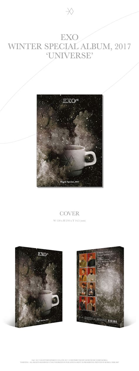 exo album exo quot universe quot winter special album 2017 tracklist cover