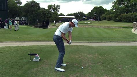 down the line golf swing adam scott down the line youtube