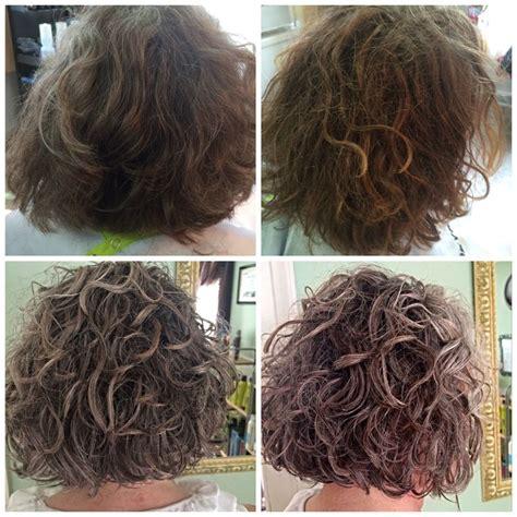 hair cut steps after cancer before after deva curl cut and deva 3 step style deva