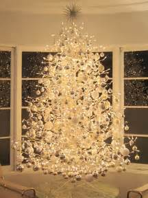 Christmas home decorations white christmas tree decoratons with gold