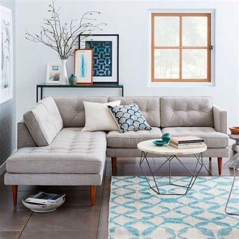 living room with gray sofa c 243 mo decorar el sal 243 n con sof 225 s esquineros