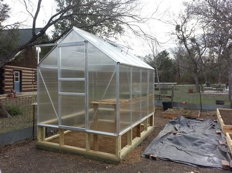 6x8 harbor freight greenhouse assembly daddykirbs farm - Harbor Freight Greenhouse