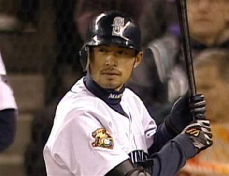 Ichiro Suzuki 2001 Ichiro S Mlb Hit In 2001 With Seattle Mariners
