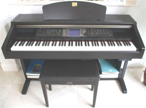 electric piano bench picture of electric piano yamaha clavinova cvp 203