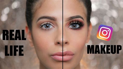 Lipstik Be Real Instagram Makeup Vs Everyday Real Makeup