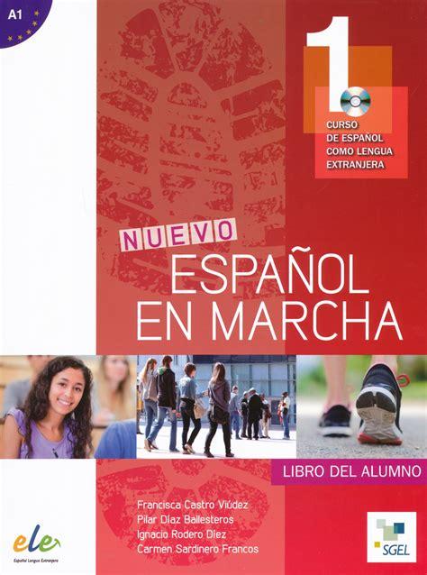 libro talk spanish 1 book cd nuevo espanol en marcha 1 libro del alumno con cd audio curso de espanol como lengua