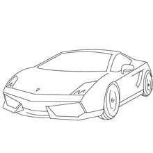 dibujos para colorear coches deportivos 16 dibujos de