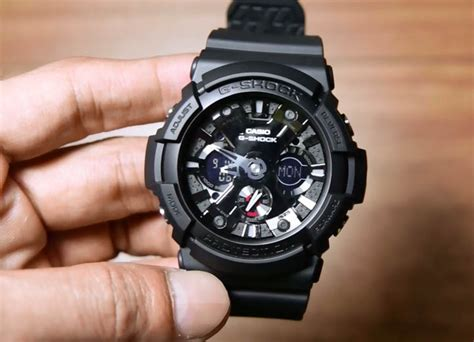 Casio G Shock Ga 201ba 1 Original casio g shock ga 201 1a indowatch co id