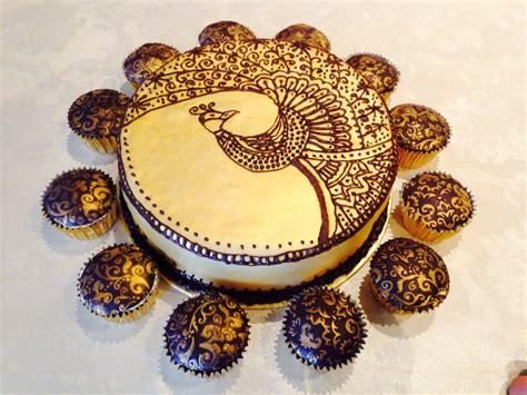 28 chocolate mehndi mousse cakes mehndi henna style