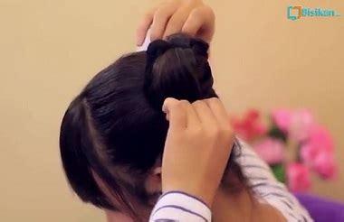 Karet Jepang Besar 1 Ons tutorial rambut wanita gaya cepol korea cantik unik dan