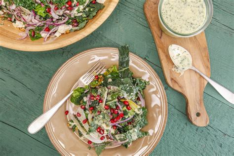 Kale Detox Salad With Pesto by Rachael Kale Pesto Recipe