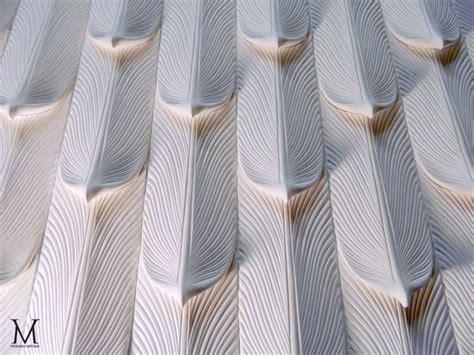 icarus sculptural wall tiles by matthew vigeland via