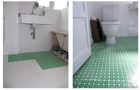 can you paint bathroom floor tile high style low cost diy bathroom floor lazy cozy