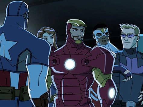 animated avengers assemble disney xd weekend