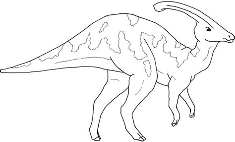 Parasaurolophus Coloring Page Dinosaurs Pinterest Parasaurolophus Coloring Page