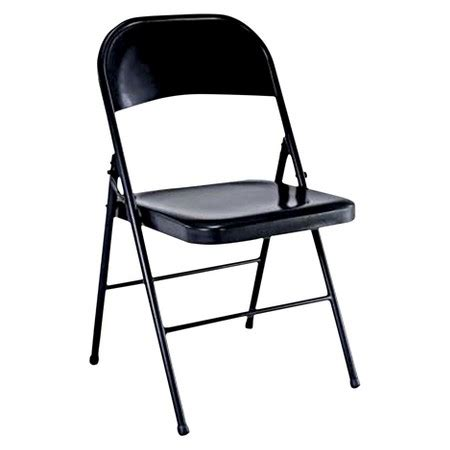 How To Fold A Chair by Folding Chair Black Plastic Dev 174 Target