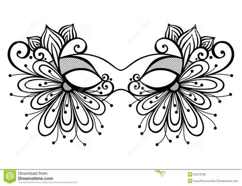 beautiful mardi gras mask printable coloring pages 17 best images about masks face paint on pinterest face