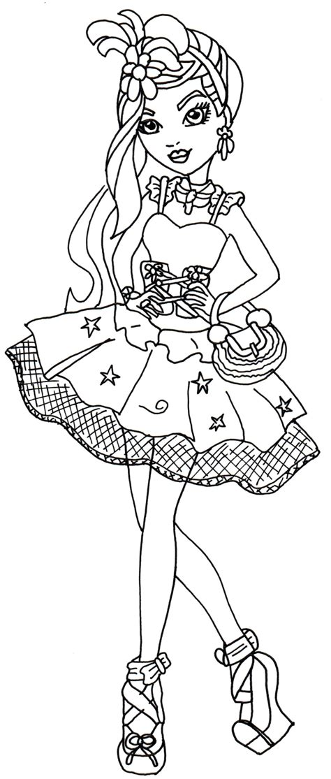 printable coloring pages ever after high ever after high coloring pages coloring home