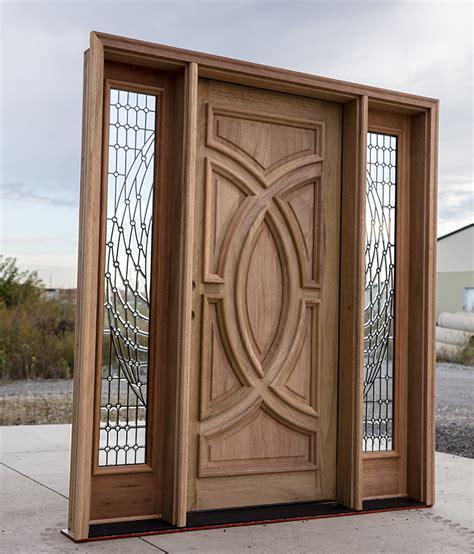 Mahogany Exterior Doors Wholesale Solid Mahogany Door Futuristic Design