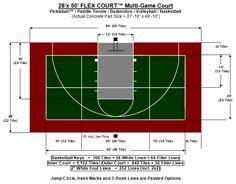 backyard volleyball court dimensions back yard basketball court dimensions half court