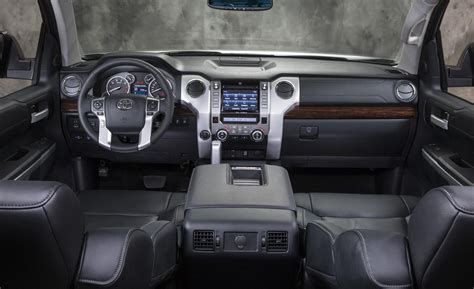 toyota tundra interior car and driver