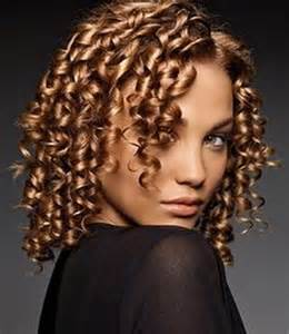 spiral perm medium hair medium curly hair style blonde spiral perm picture dark