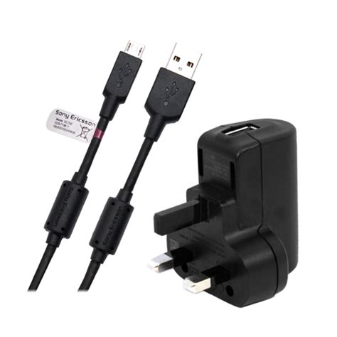 sony ericsson walkman charger genuine sony ericsson mains charger usb cable for wt19i