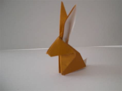 One Fold Origami - how to fold an origami rabbit 171 origami
