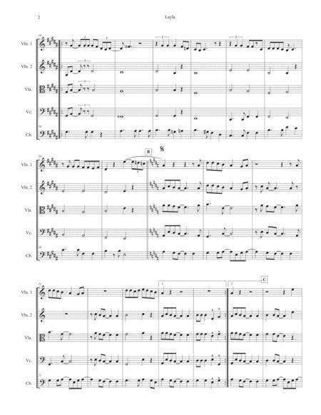 Layla Sheet Music PDF Download - coolsheetmusic.com