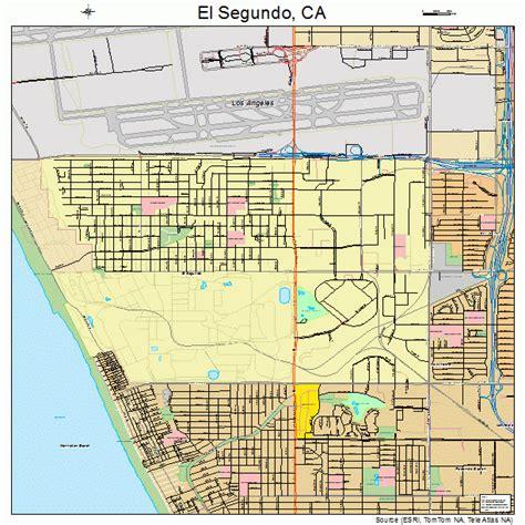 california map el segundo el segundo california map 0622412