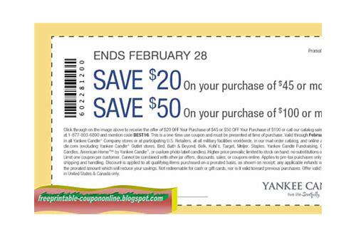 yankee candle canada coupons 2018