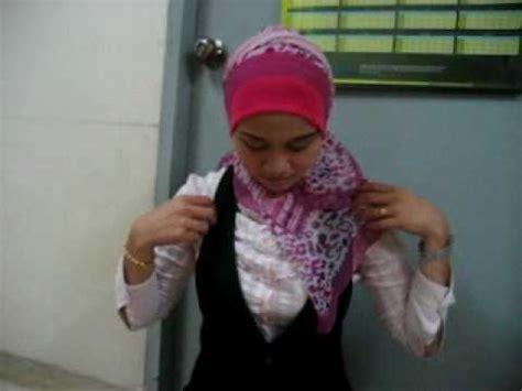 tutorial jilbab lilit tudung 4 segi vidoemo emotional video unity