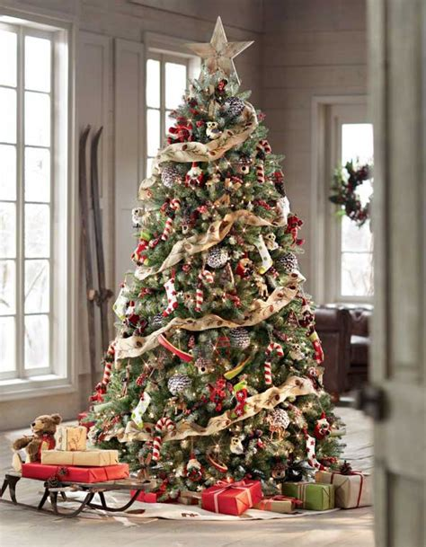 Tree Decoration 25 Creative And Beautiful Christmas Tree Decorating Ideas