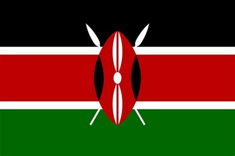 kenya flag colors file flag of kenya svg